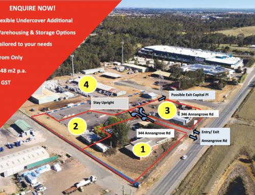 Office, Showroom, Warehouse, Workshop with Bitumen hardstand for Lease.